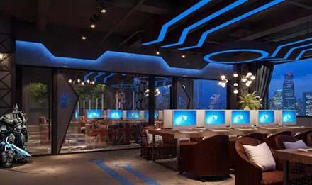 电竞馆室内灯光设计案例分享